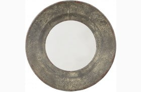 "Carine 18"" Gray Accent Mirror"