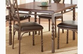 Annabella Medium Oak Square Dining Table