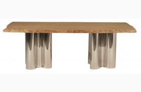 Xena Absolute Natural Rectangular Dining Table