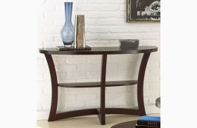 Alice Espresso Sofa Table