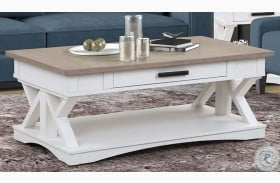 Americana Modern Cotton Cocktail Table