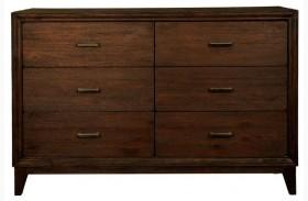Ashton Rustic Java Double Dresser