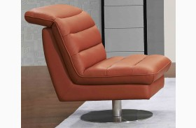 Astro Pumpkin Swivel Chair