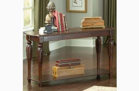 Antoinette Brown Cherry Sofa Table