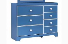 Bronilly Blue Dresser