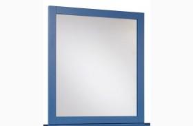 Bronilly Blue Bedroom Mirror