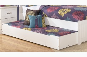 Lulu Trundle Unit with Slat Roll