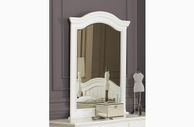 Clementine White Youth Mirror