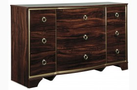 Lenmara Reddish Brown Dresser