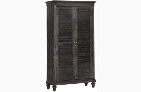 Calistoga Weathered Charcoal Wardrobe