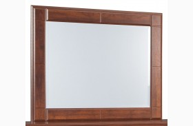 Brittberg Reddish Brown Bedroom Mirror