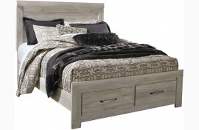 Bellaby White Storage Panel Bed