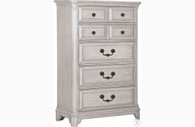 Windsor Lane Weathered White Drawer Chest