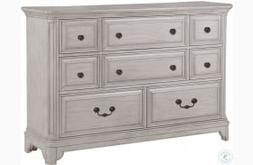 Windsor Lane Weathered White Drawer Dresser