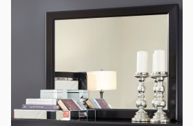 Fancee Black Bedroom Mirror