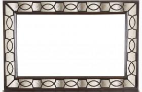 Gramercy Sable Wood Landscape Mirror