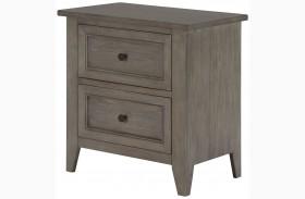Talbot Driftwood Drawer Nightstand