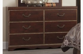 Chanlyn Reddish Brown Dresser