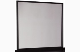 Stavani Black and Brown Bedroom Mirror