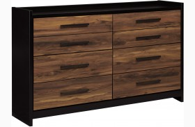 Stavani Black and Brown Dresser