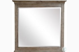 Paxton Place Dovetail Grey Landscape Mirror