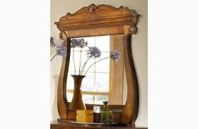 Shenandoah American Oak Landscape Mirror