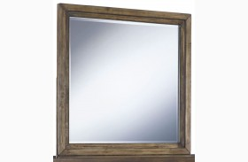 Zilmar Brown Bedroom Mirror