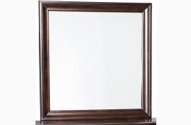 Evanburg Brown Bedroom Mirror