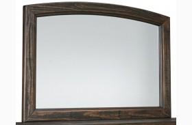 Trudell Dark Brown Bedroom Mirror