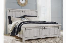 Brashland White Panel Bed