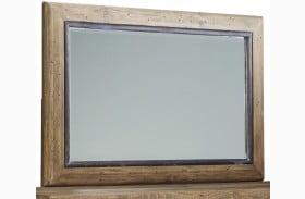 Sommerford Brown Bedroom Mirror