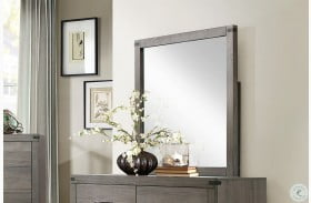 Woodrow Gray Mirror