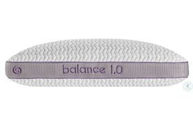 Balance White And Purple Personal Performance Firm Pillow