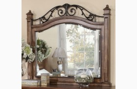 Barclay Rustic Acacia Mirror