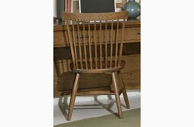 Transitions Dark Oak Desk Chair