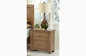 Transitions Dark Oak 2 Drawer Nightstand