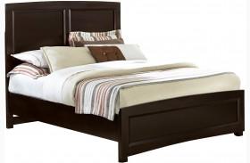 Transitions Merlot Full Panel Bed