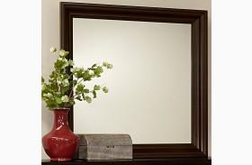 Bedford Merlot Landscape Mirror