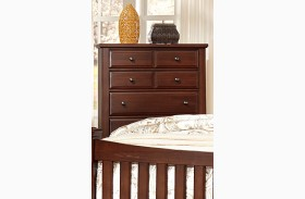 Bedford Cherry 5 Drawer Chest
