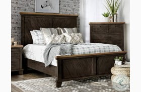 Bear Creek Chocolate And Honey Panel Bed
