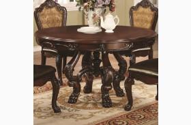 Abigail Cherry Round Pedestal Dining Table