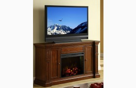 Berkshire Old World Umber Fireplace Wall Console