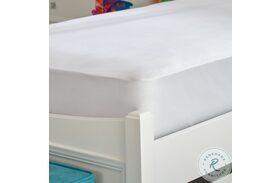 Kids Basic White Twin Mattress Protector