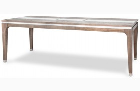 Biscayne West Haze Extendable Leg Dining Table