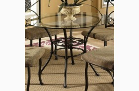 Brookfield Glass Round Dining Table