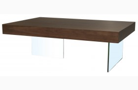 Cleo Blain Dark Walnut Coffee Table