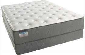 BeautySleep Amelia Island Tight Top Plush Twin Size Mattress with Foundation