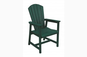 Generations Green Adirondack Dining Arm Chair