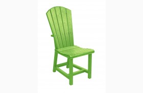Generations Kiwi Lime Adirondack Dining Side Chair