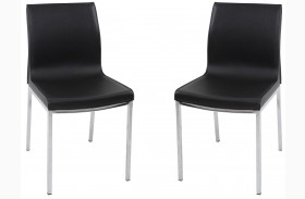 C208 Modern Grey Dining Chair Set of 2